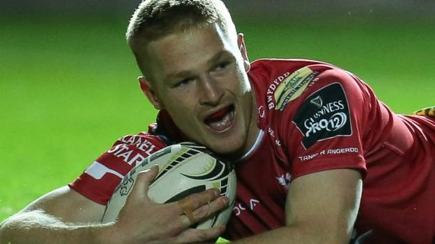 Scarlets: Johnny McNicholl sidelined after 'emergency surgery'