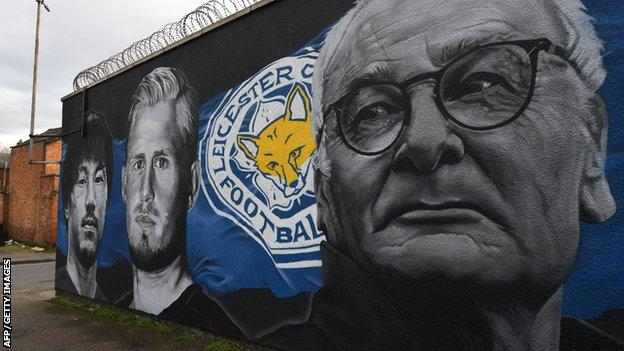 Leicester City mural