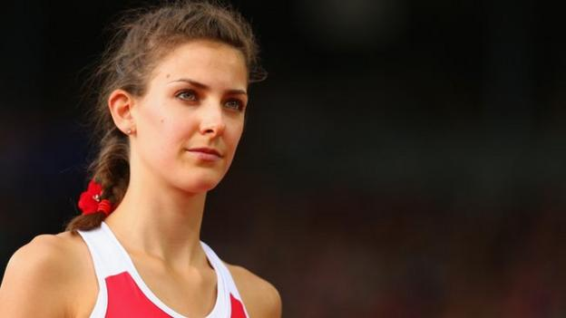 Isobel Pooley: High jumper trying 'to break records, not look sexy ...