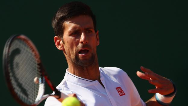 Novak Djokovic parts with his entire coaching team before Madrid Open - BBC Sport