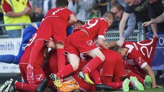 Valletta FC 1-2 Newtown AFC - BBC Sport