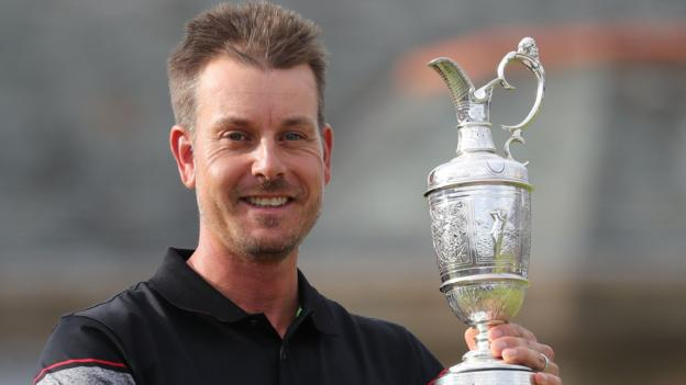 The Open 2017: Defending champion Henrik Stenson to partner Jordan Spieth