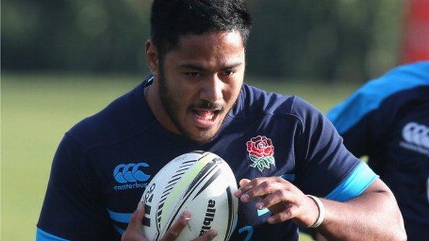 Manu Tuilagi: England centre ready for January return - BBC Sport