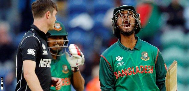 Bangladesh reached the semi-finals of a major tournament for the first time in their history