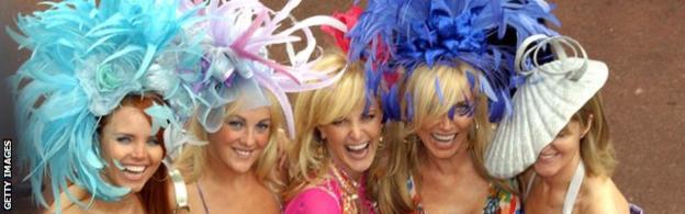 Hats at Royal Ascot on Ladies' Day