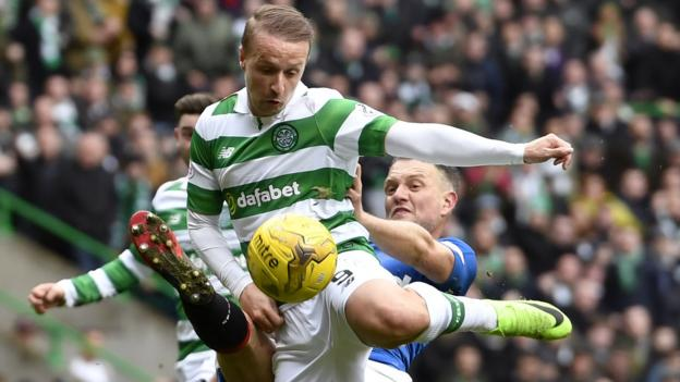 Image result for Celtic 1 Rangers 1 march 2017 penalty