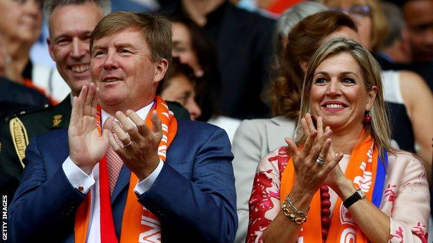King Willem-Alexander of the Netherlands and Queen Maxima