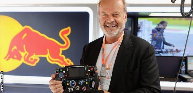 Kelsey Grammer also visited Red Bull