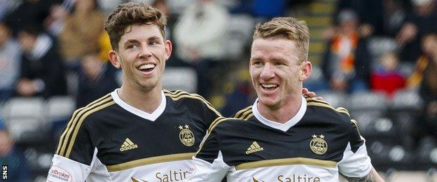 Ryan Christie and Jonny Hayes