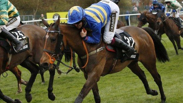 Jockey Robbie Dunne