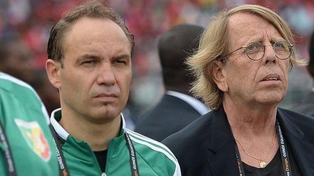 Sebastien Migne appointed Congo coach