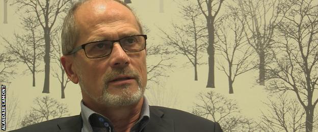Lars-Christer Olsson, chairman Swedish Football League