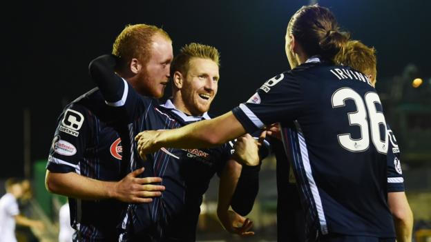 Scottish League Cup: Inverness CT 1-2 Ross County - BBC Sport