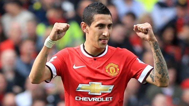 Angel Di Maria: Manchester United midfielder joins PSG - BBC Sport