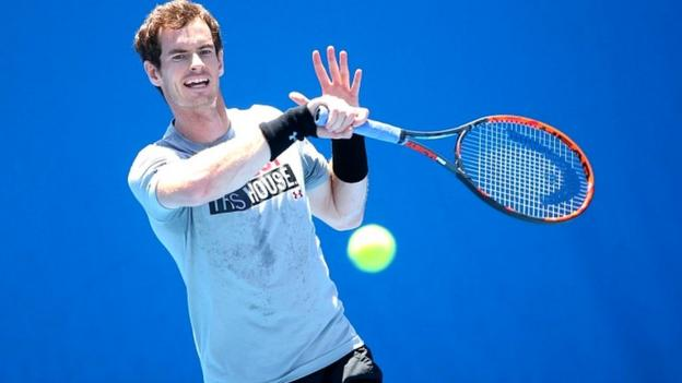 Australian Open: Andy Murray takes on Australian Sam Groth ...
