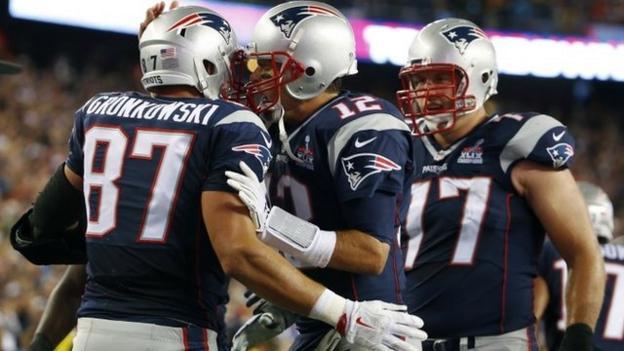 NFL: Tom Brady & Rob Gronkowski help Patriots win opener - BBC ...