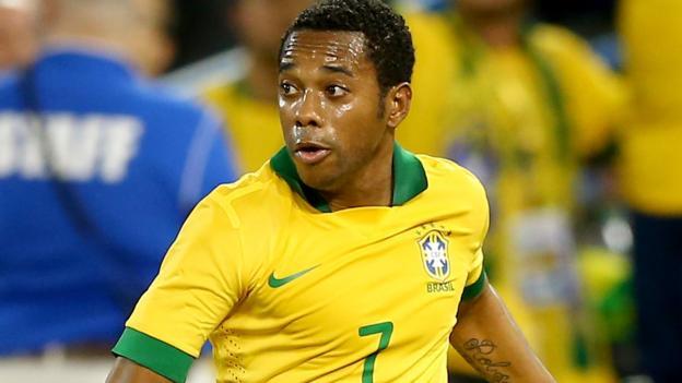 Robinho: Brazil striker makes Guangzhou Evergrande move - BBC ...