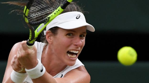 Wimbledon 2017: Johanna Konta 'tremendously proud' of semi-final run