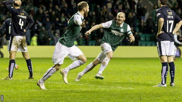 Scottish Championship: Hibernian 1-1 Falkirk - BBC Sport