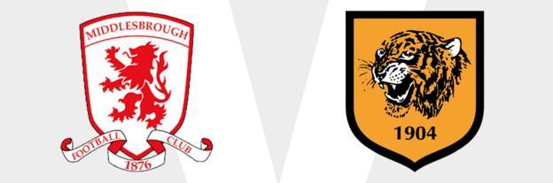 Middlesbrough v Hull City