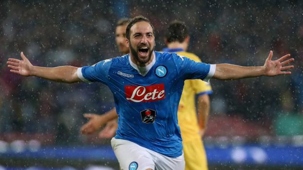 Napoli 4-0 Frosinone - BBC Sport