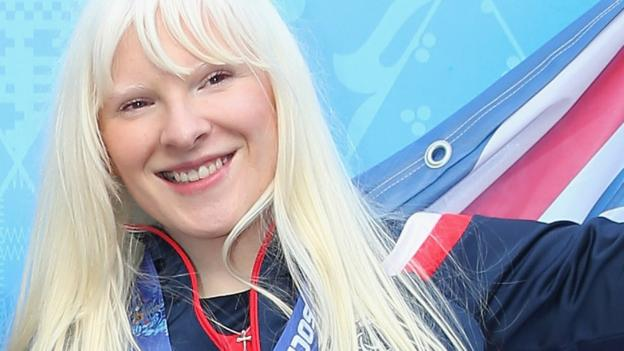 IPC Alpine World Championships Kelly Gallagher fractures ribs amp dislocates