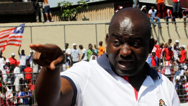 Fifa: Musa Bility rejected as presidential candidate - BBC Sport