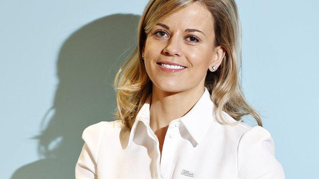 Susie Wolff: Ex-F1 test driver aims to 'empower' women in ...