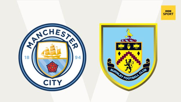 Man City v Burnley