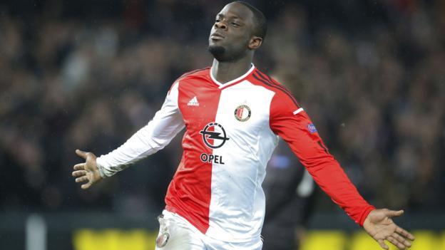 Elvis Manu: Feyenoord striker joins Brighton for undisclosed fee ...