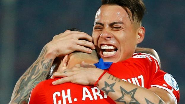 Chile 2-1 Peru - BBC Sport
