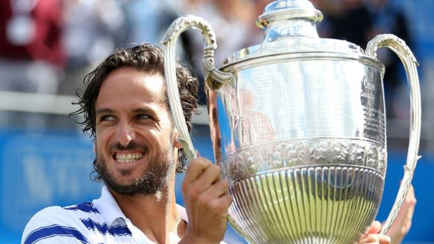 Highlights & report: Spain's Lopez beats Cilic to win Queen's