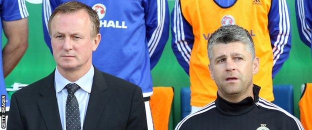 Michael O'Neill and Stephen Robinson