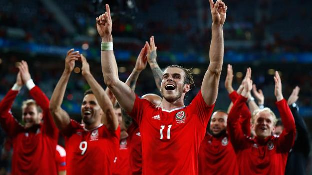 Euro 2016: Wales set for historic semi-final with Portugal