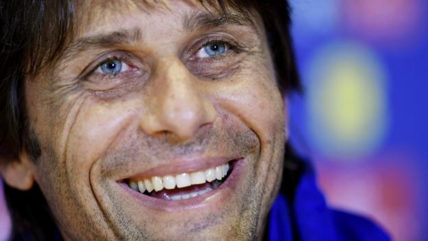 Chelsea boss Conte signs new two-year contract