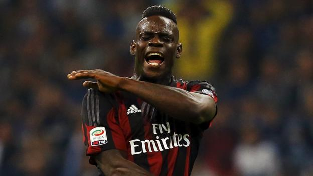 Mario Balotelli: AC Milan striker out for another month - BBC Sport