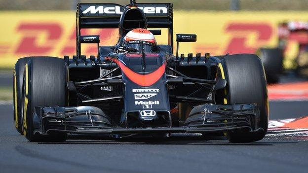 Belgian Grand Prix: McLaren given 105-place grid penalty - BBC Sport