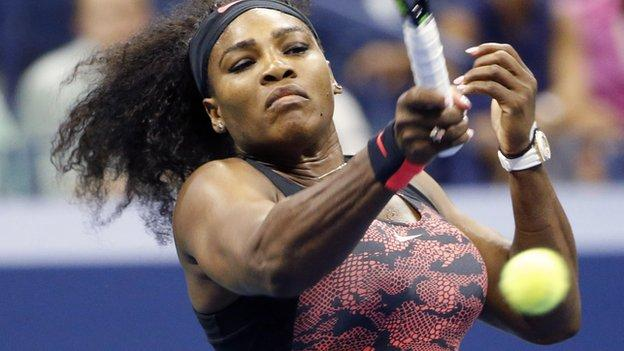 US Open 2015: Serena Williams and Rafael Nadal reach round two ...