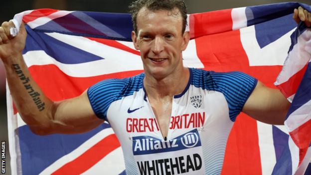 Richard Whitehead turns 41 on Wednesday