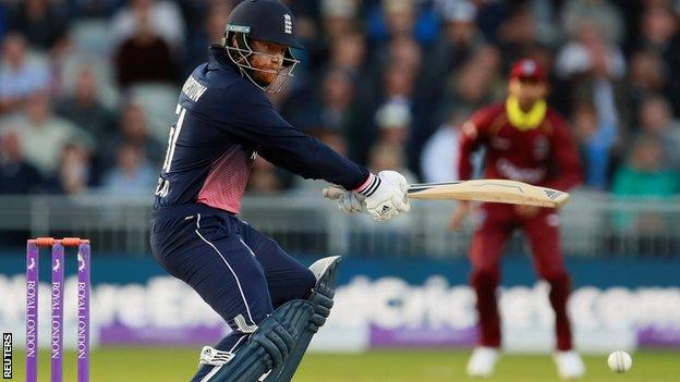 Bairstow makes ton in big England win - highlights & report