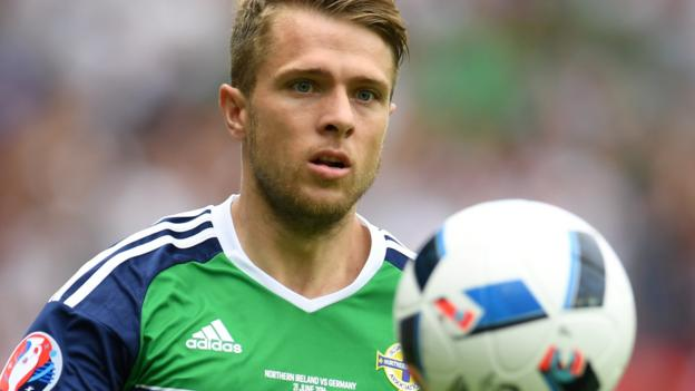 Ward and McNair return for Northern Ireland's World Cup play-off