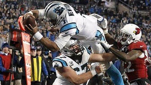 Super Bowl 50: Denver Broncos to face Carolina Panthers - BBC Sport