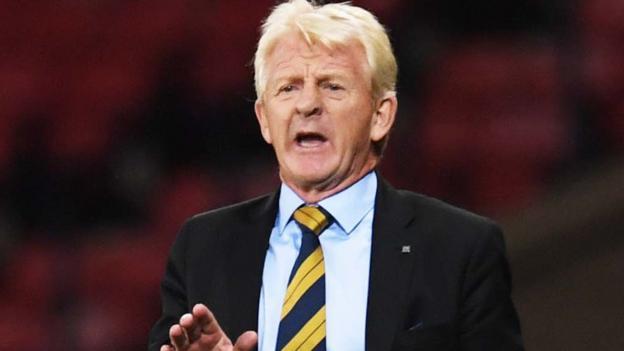 World Cup 2018: Scotland relishing 'huge' game with Slovakia - Gordon Strachan