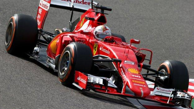 Sebastian Vettel handed 10-place grid penalty at United States GP ...