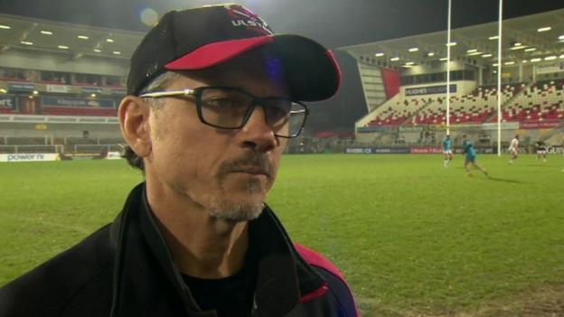 Les Kiss rues Ulster errors in home defeat by Munster - BBC Sport
