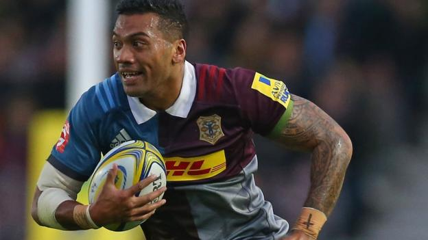Alofa Alofa: Samoa winger extends Harlequins contract