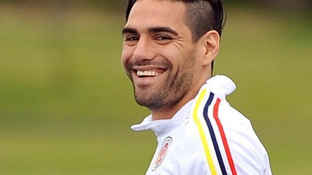 Radamel Falcao: Chelsea striker was best of 'human players' - BBC ...