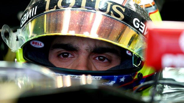 Pastor Maldonado could lose Renault seat over late payment - BBC ...