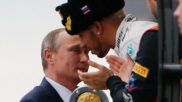 Lewis Hamilton wins incident-packed Russian Grand Prix - BBC Sport