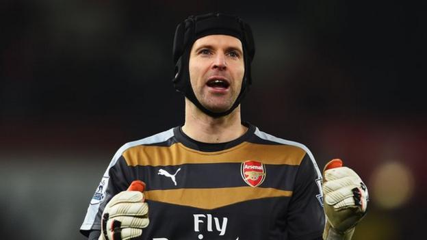 Stoke 0-0 Arsenal: Arsene Wenger praises 'outstanding' Petr Cech ...